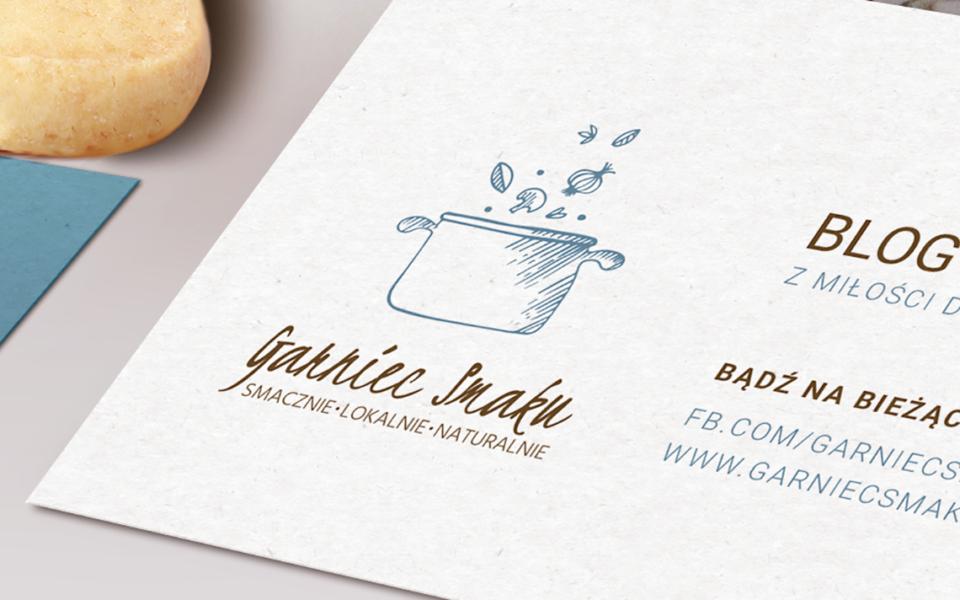 projekt logo blog kulinarny