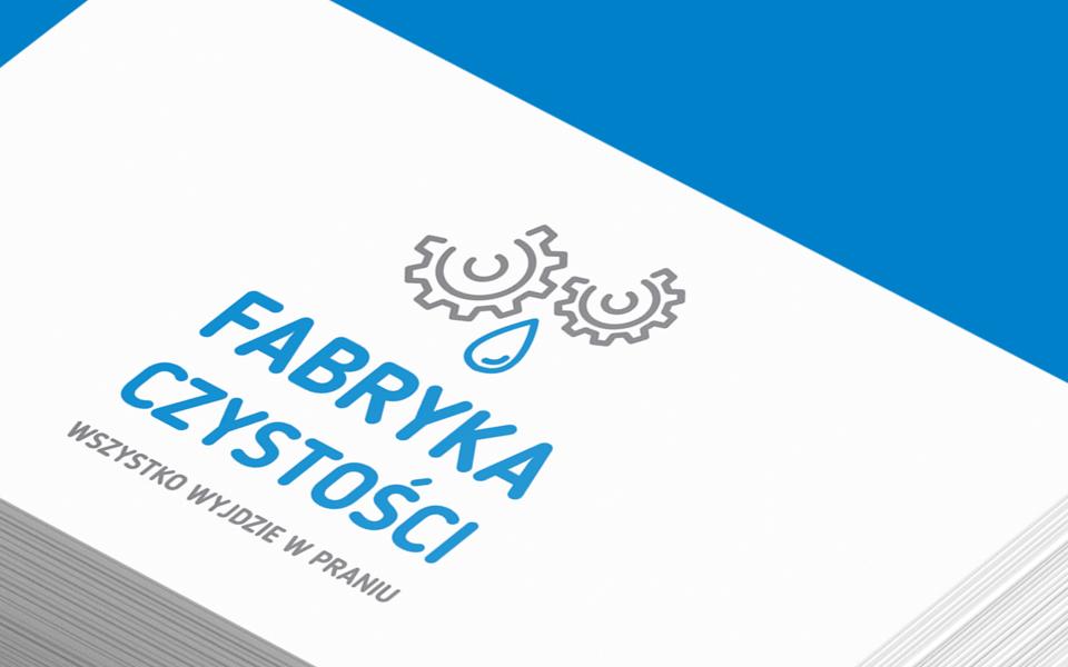 projekt logo firma sprzątająca