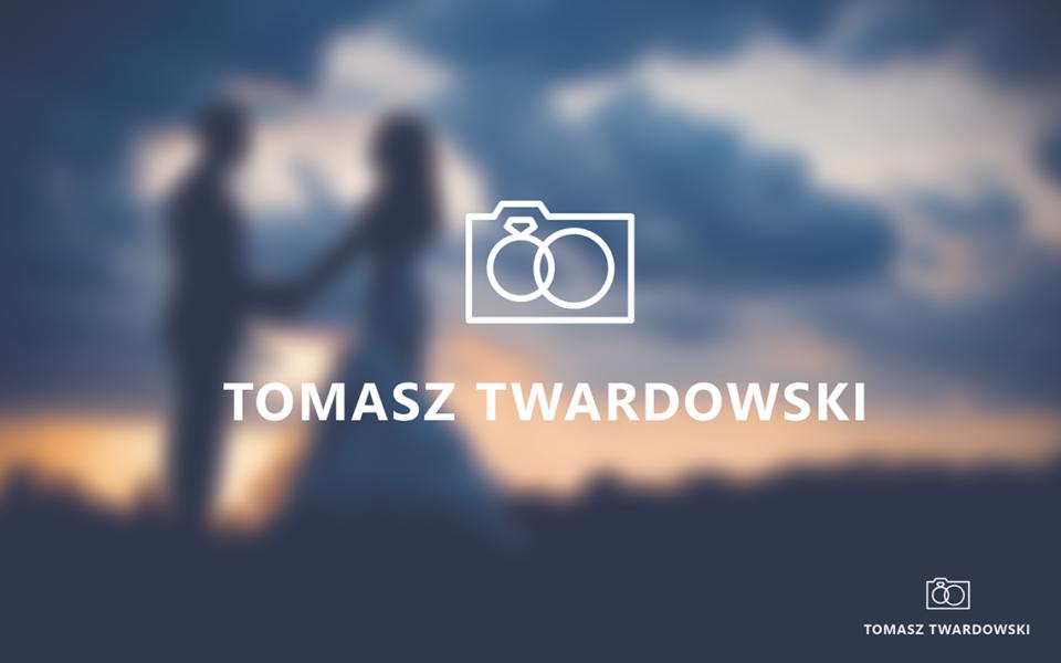 projekt logo fotograf ślubny