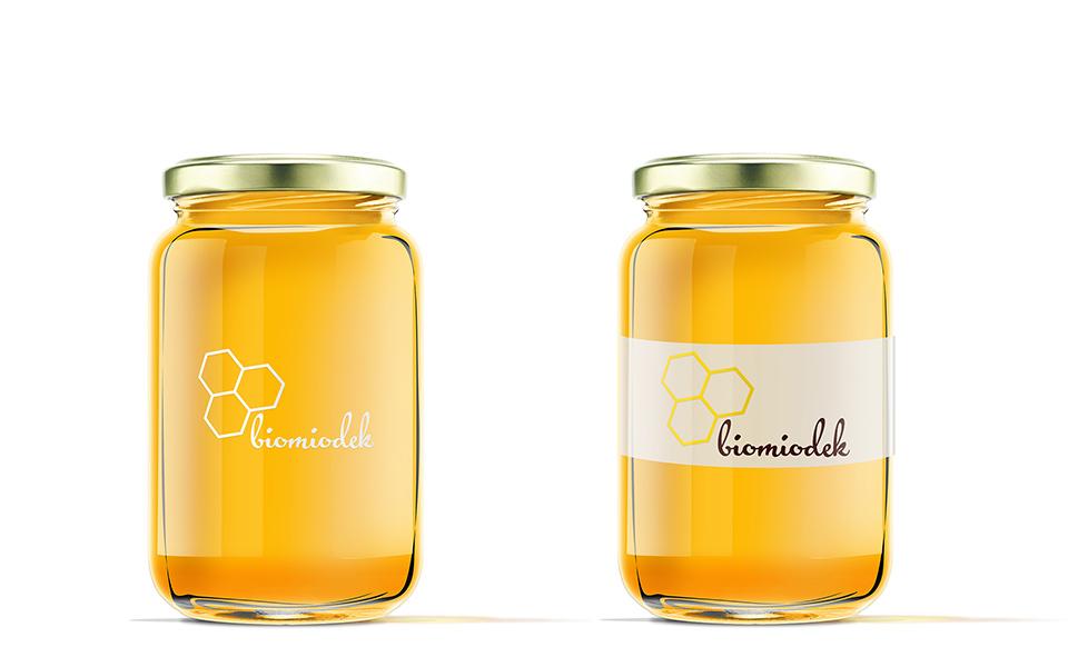 projekt logo producent miodu