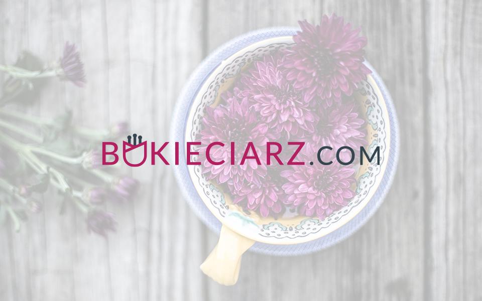 projekt logo serwis bukietowy
