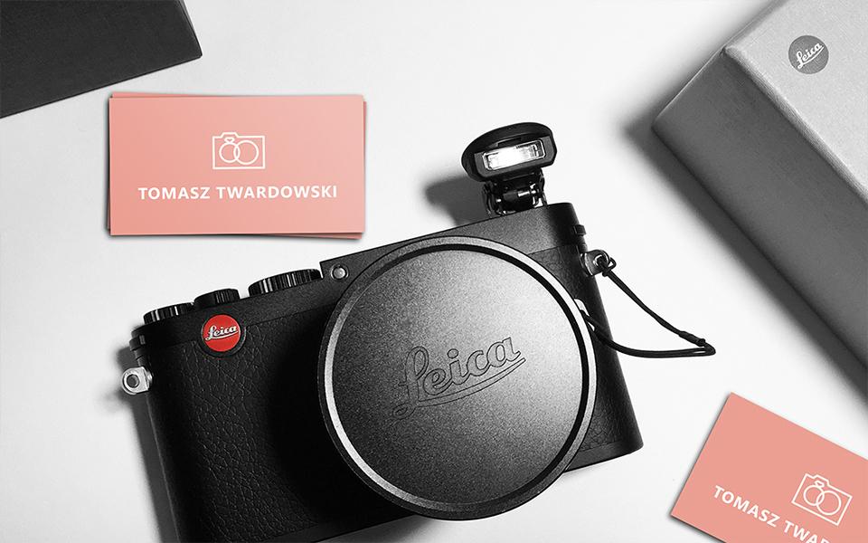 projekt wizytówki dla fotografa