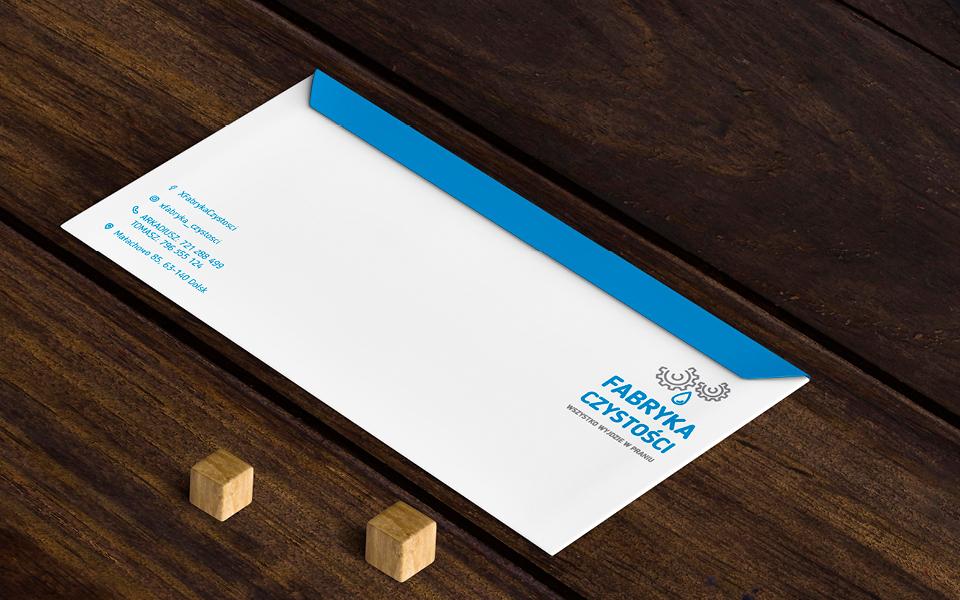 projekt koperty firma sprzątająca