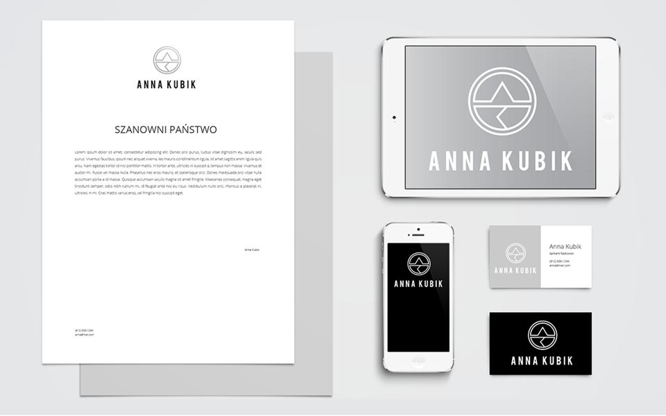 projekt papieru firmowego anna kubik