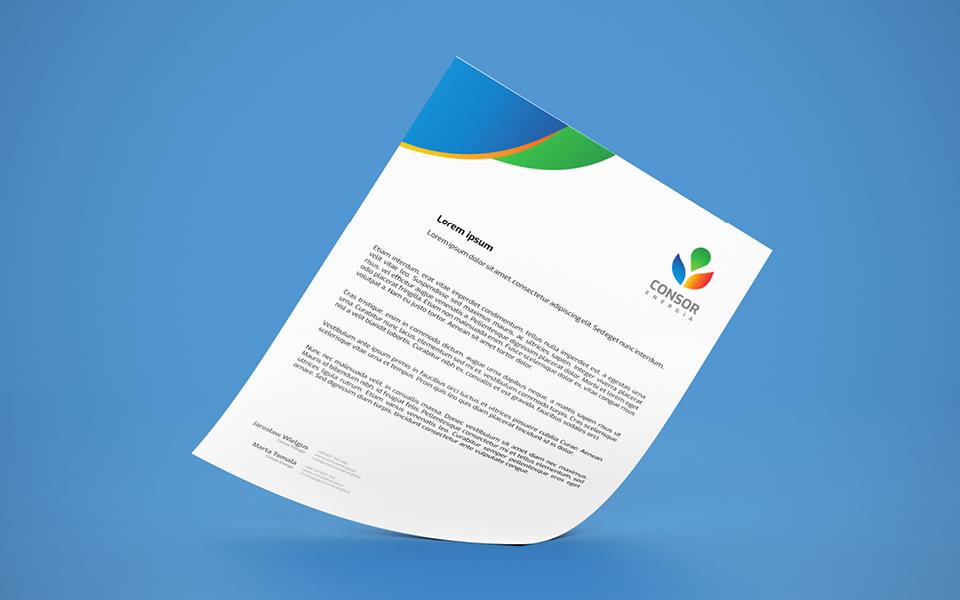 projekt papieru firmowego odnawialne zrodla energii